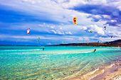 Kitesurf na Itália
