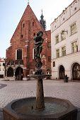 Krakow Student Monument