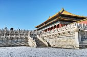 Forbidden City After The Snow