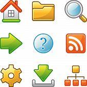 Basic Web Icons, Alfa Series