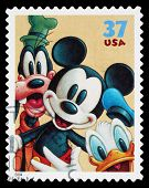 Disney Mickey Mouse estampilla
