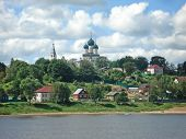 pic of uglich  - Uglich on the River Volga in Russia - JPG