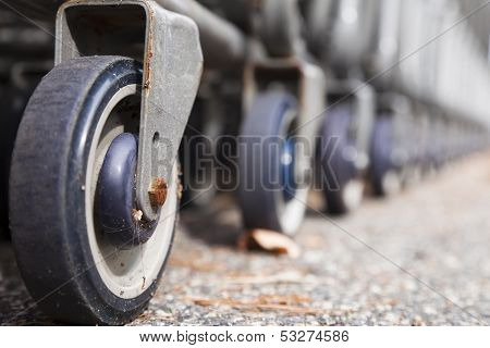 Shopping Cart Wheels poster