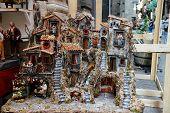 San Gregorio Armeno In Naples Italy