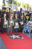 LOS ANGELES - OCT 30: Taylor Hawkins, John Densmore,John Doe, Perry Farrell, Dave Navarro, Stephen P