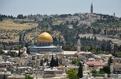 The Roofs Of Ancient Jerusalem