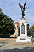Colchester War Memorial on portrait aspect