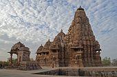 Kandariya Mahadeva Temple, Dedicated To Shiva, Khajuraho, India - UNESCO world heritage site.