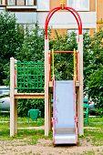 A children's slide