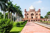 stock photo of mausoleum  - Safdarjung - JPG