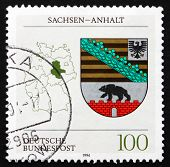 Postage Stamp Germany 1994 Coat Of Arms, Saxony-anhalt