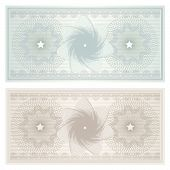 picture of debenture  - Vintage background with guilloche pattern  - JPG