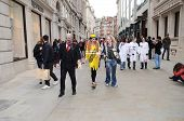 The 2013 London Zombie Walk, An Annual Event Which Raises Money For St Mungo's Homeless Charity, In