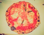 Retro Look Pizza Margherita