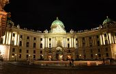 St. Michael's Wing Of Hofburg Palace In Vienna, Austria