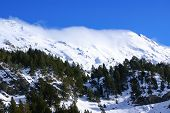 Panoramic View, South Side, Of Massif Of Maladeta In The Pyrenees