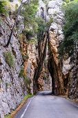 Road To Sa Calobra In Serra De Tramuntana - Mountains On Mallorca, Spain