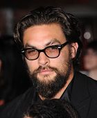 LOS ANGELES - MAR 18:  Jason Momoa arrives to the 'Divergent' Los Angeles Premiere  on March 18, 201