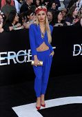 LOS ANGELES - MAR 18:  Pia Mia Perez arrives to the 'Divergent' Los Angeles Premiere  on March 18, 2