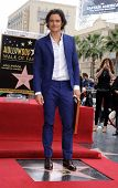 LOS ANGELES - APR 02:  Orlando Bloom arrives to the Walk of Fame honors Orlando Bloom  on April 02,