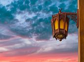 Arab Street Lanterns In The City Of Dubai
