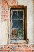 Old Window With Lattice
