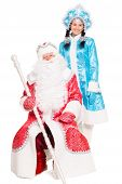 Father Frost And Snow Maiden