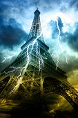 Thunderstorm In Paris