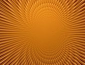 Rays  In Abstract Orange Gold   Universe