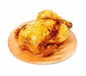 Baked, Roast Chicken