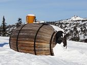 The Big  Barrel At Mountain Top