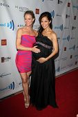 LOS ANGELES - APR 12:  Teri Polo, Sherri Saum at the GLAAD Media Awards at Beverly Hilton Hotel on A