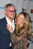 LOS ANGELES - APR 12:  Eric Dane, Rebecca Gayheart at the GLAAD Media Awards at Beverly Hilton Hotel on April 12, 2014 in Beverly Hills, CA