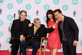 LOS ANGELES - APR 12:  Richard Lewis, Jerry Lewis, Illeana Douglas, Dane Cook at the Jerry Lewis Han