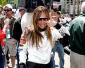 LOS ANGELES - APR 12:  Vanessa Marcil at the Long Beach Grand Prix Pro/Celeb Race Day at the Long Be