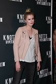 LOS ANGELES - OCT 3:  Ireland Baldwin at the Knott's Scary Farm Celebrity VIP Opening  at Knott's Berry Farm on October 3, 2014 in Buena Park, CA