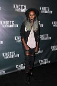 LOS ANGELES - OCT 3:  Angel Haze at the Knott's Scary Farm Celebrity VIP Opening  at Knott's Berry Farm on October 3, 2014 in Buena Park, CA