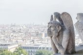 Gargoyle At Notre Dame Of Paris