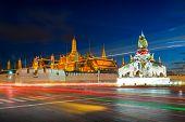Wat Phra Kaew Or Temple Of The Emerald Buddha