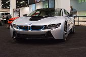 Bmw I8 At The Orange County International Auto Show