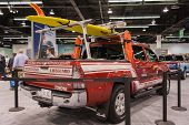 Toyota 4-runner Sport Utility Lifeguard At The Orange County International Auto Show