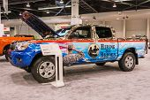 Anaheim, Ca - October 3, 2014: Toyota Tacoma Prerunner At The Orange County International Auto Show