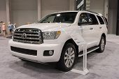 2015 Toyota Sequoia 4X4 At The Orange County International Auto
