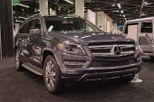 2015 Mercedes-benz Gl 450 At The Orange County International Auto Show
