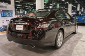 2015 Nissan Maxima At The Orange County International Auto Show