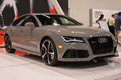 2015 Audi Rs7 At The Orange County International Auto Show
