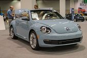 2015 Beetle Convertible At The Orange County International Auto Show