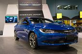 2015 Chrysler 200S At The Orange County International Auto Show