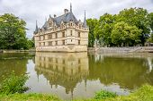 Chateau Azay Le Rideau With Moat