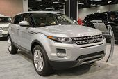 2015 Range Rover Evoque At The Orange County International Auto Show